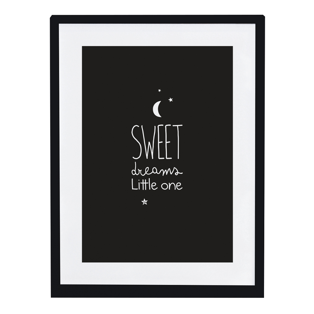 Sweat Dreams Poster Inspiring Words Lilipinso Met Lijst Lili-P0200 1024X1024