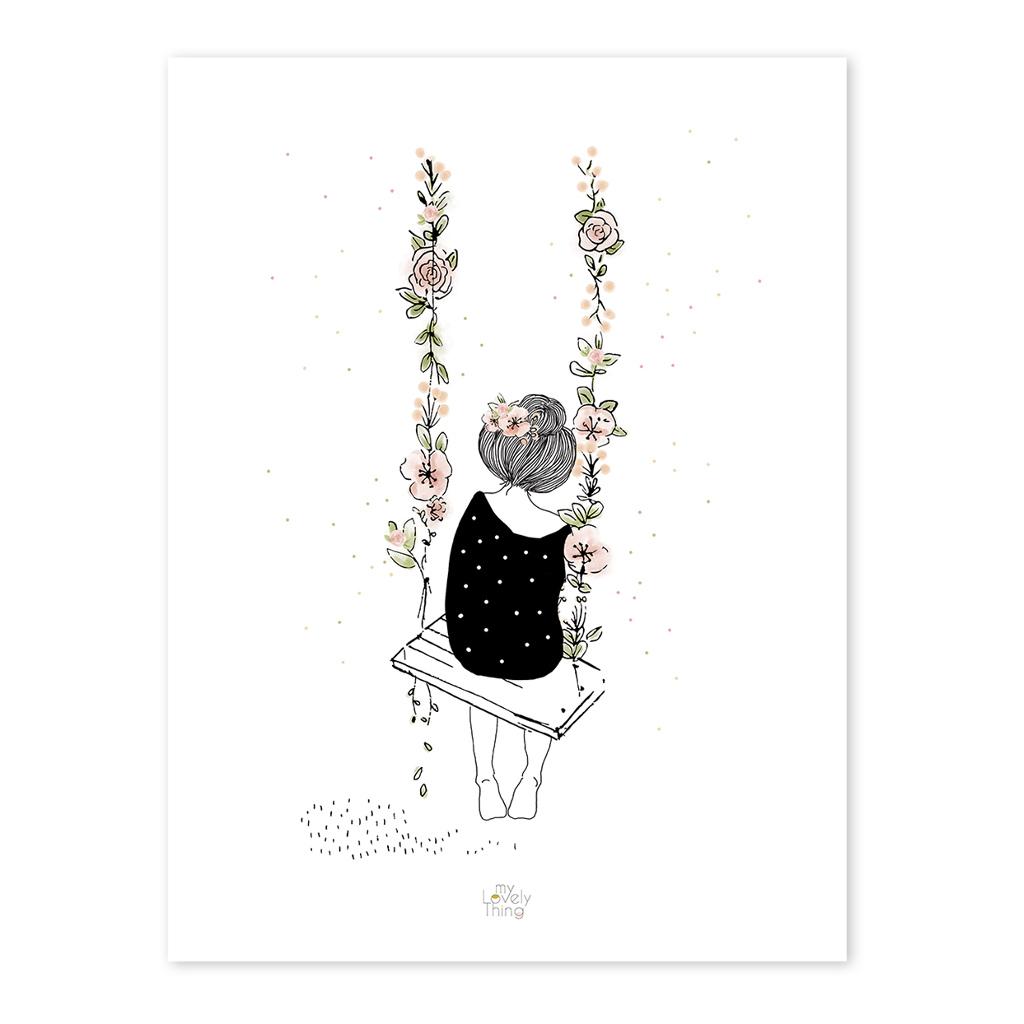Swing Poster Rosae Lilipinso Lili-P0217 1024X1024