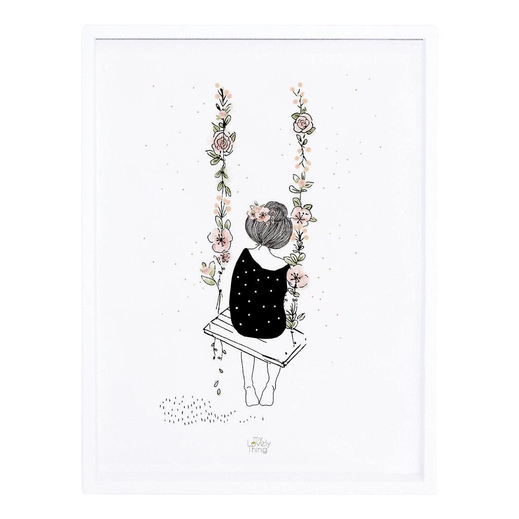 Swing Poster Rosae Lilipinso Met Lijst Lili-P0217 1024X1024