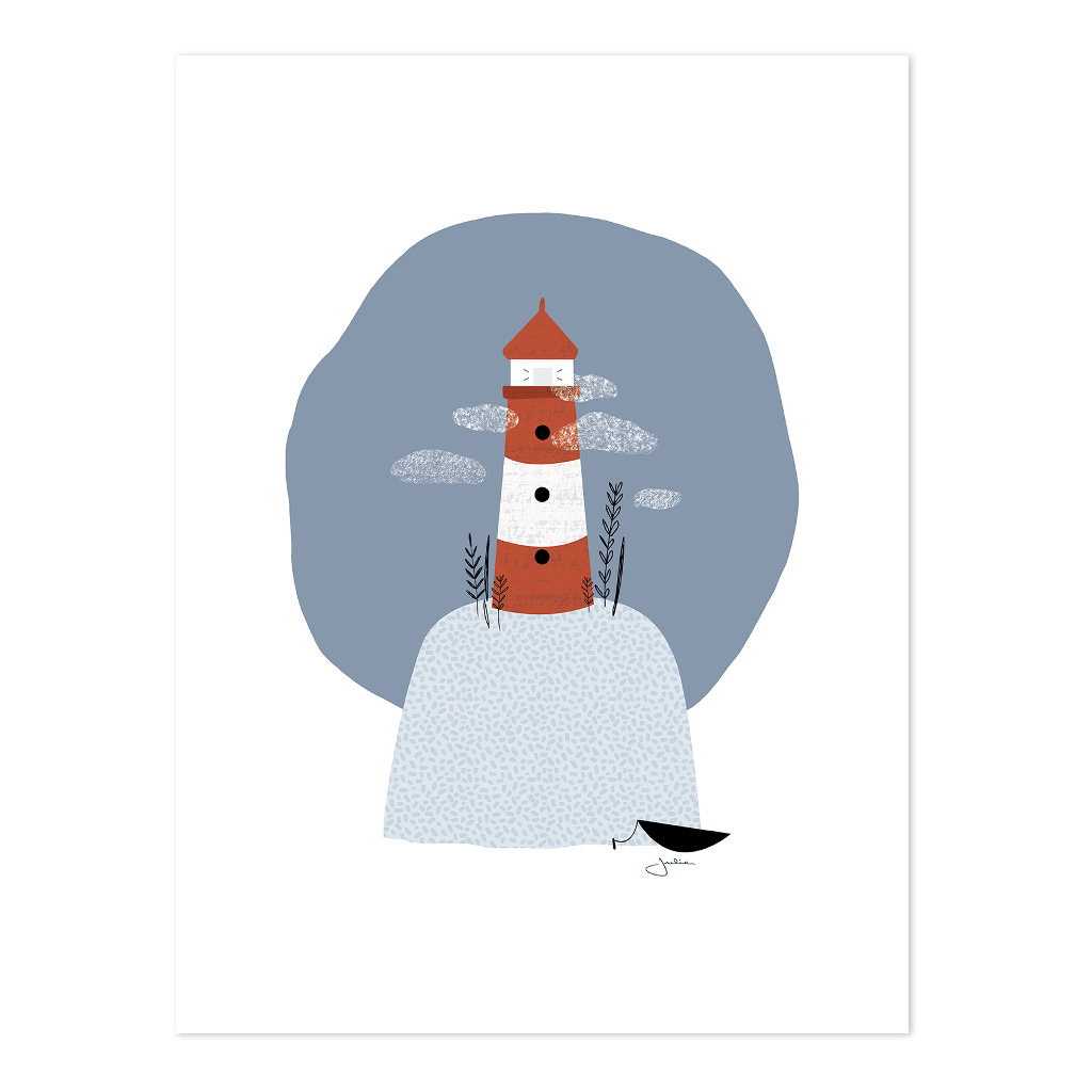 The Lighthouse Poster | Wild Islands | Lilipinso
