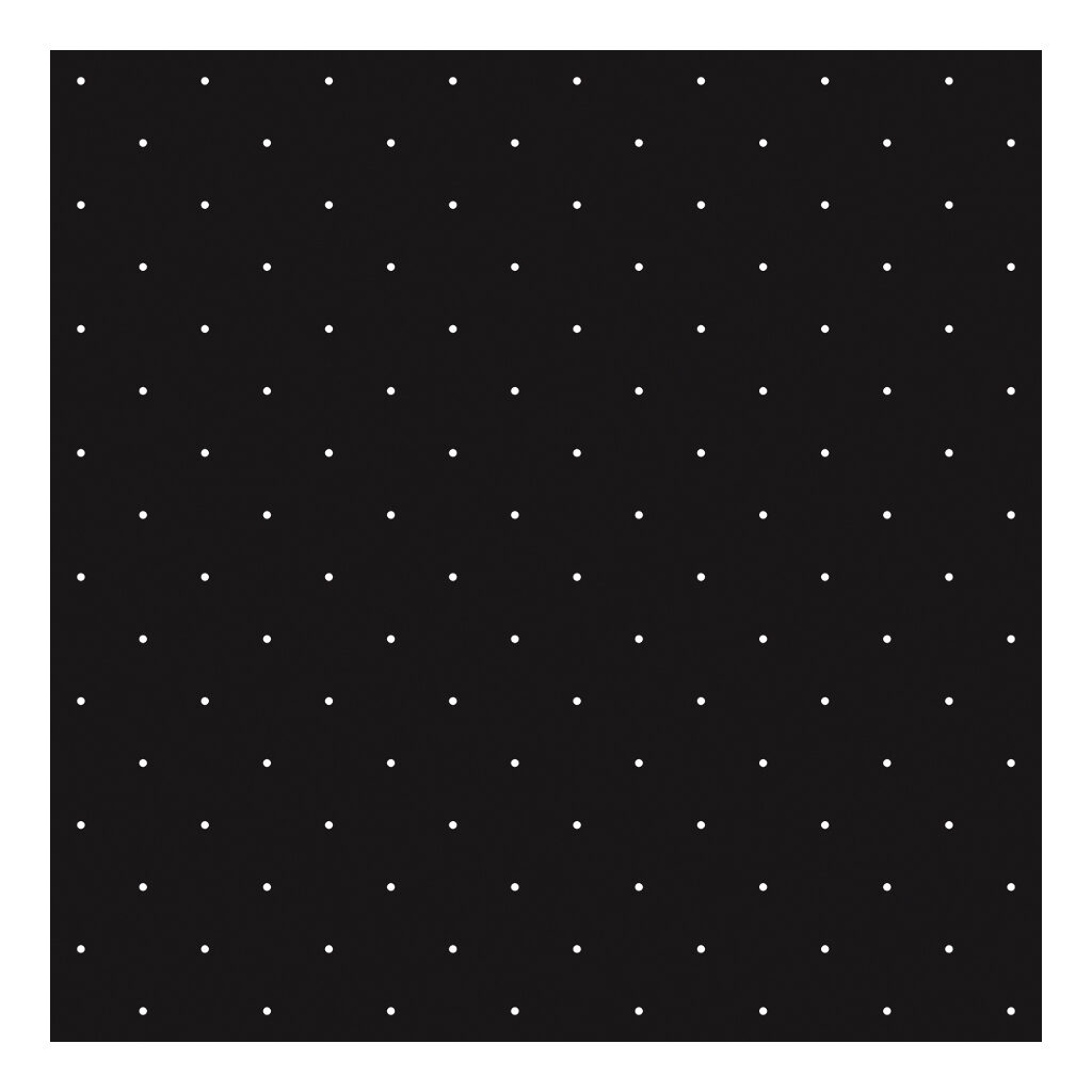 White Polka Dots On Background Black Behang | Rosae | Lilipinso