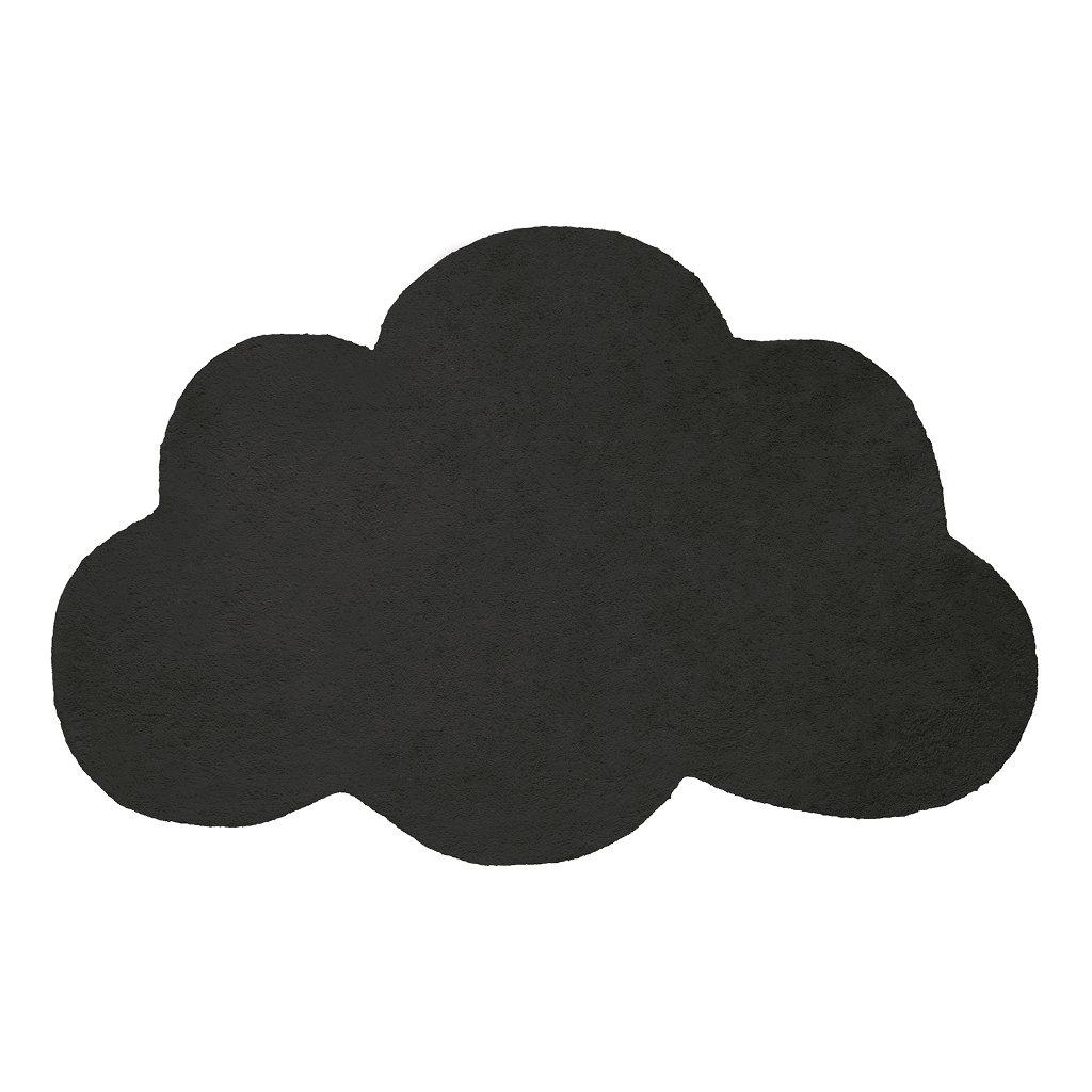 Wolk Anthracite Vloerkleed Nuages Lilipinso Zwart Groot Lili-H0350