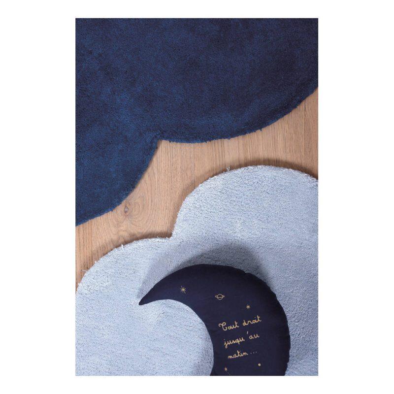 Wolk True Navy Vloerkleed Nuages Lilipinso Decoratie Combinatie Lili-H0349