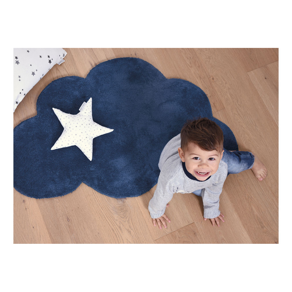 Wolk True Navy Vloerkleed Nuages Lilipinso Speelkleed Lili-H0349