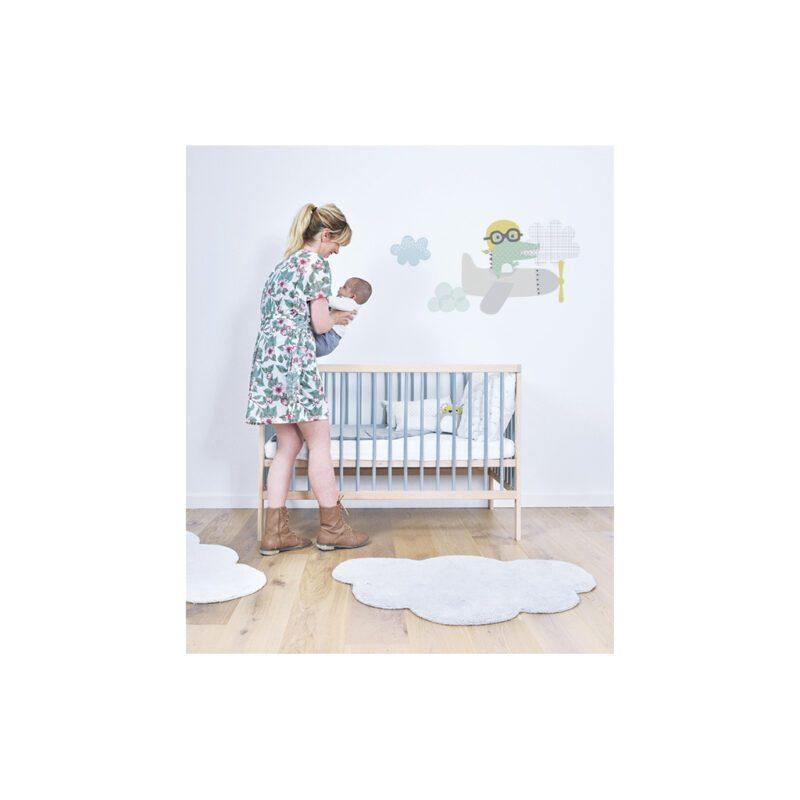 Wolk Whisper White Vloerkleed Lilipinso Spier Wit Lili-H0271
