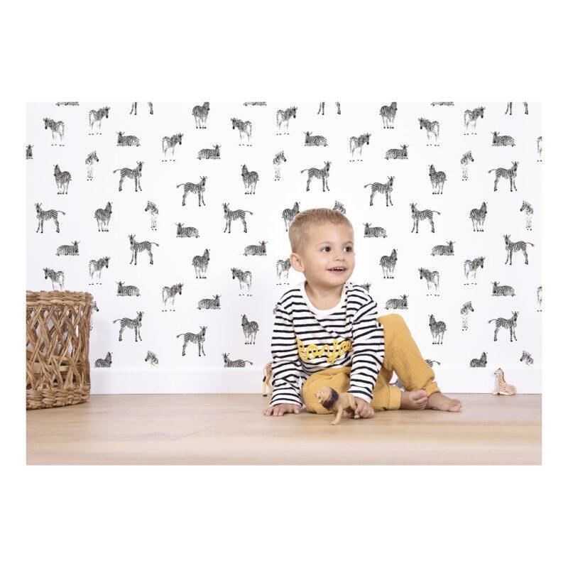 Zebra Behang Serengeti Kinderkamer Lilipinso lili-h0463