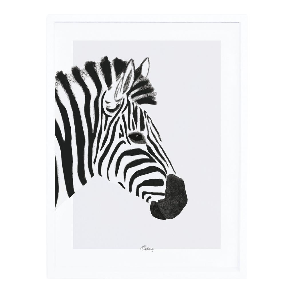 Zebra Poster Met Lijst Serengeti Lilipinso lili-p0264