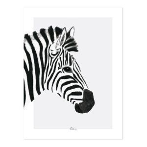 Zebra Poster | Serengeti | Lilipinso