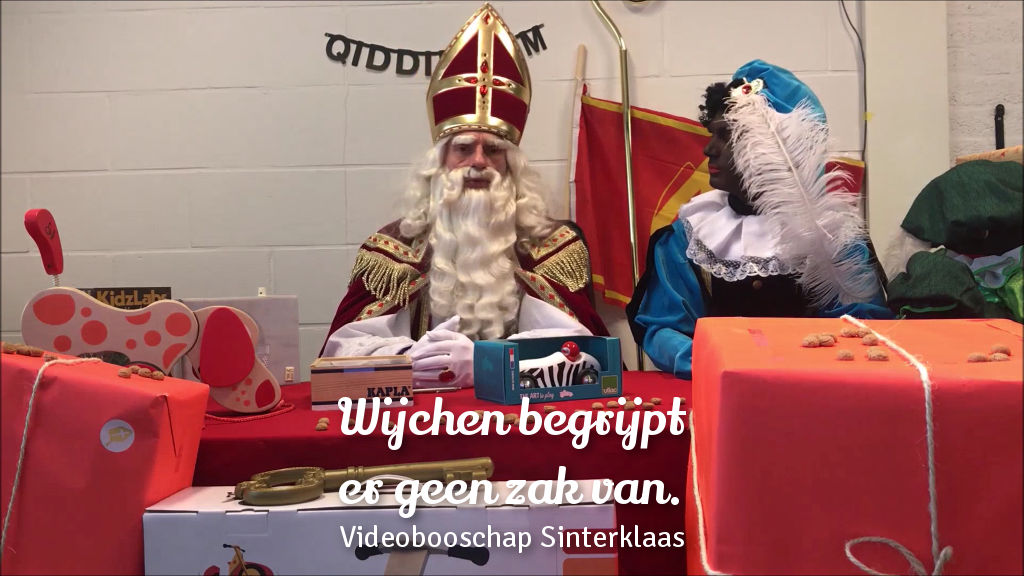 Jute zakken Wijchen - Wijchen Begrijpt Er Geen Zak Van - Sinterklaas video boodschap