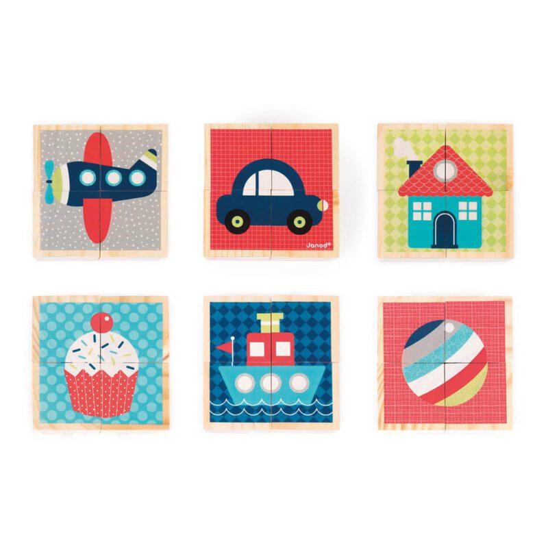 Eerste Woordjes Blokken 4 Blokken 6 Afbeeldingen Janod Janod Jano-11.8002