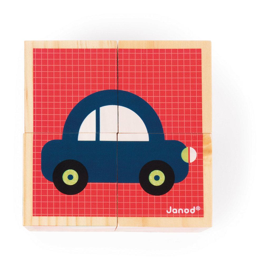 Eerste Woordjes Blokken Janod Auto Janod Jano-11.8002