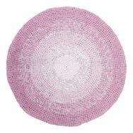 Roze Verloop Gehaakt Vloerkleed Sebra sebr-4003207 1024x1024