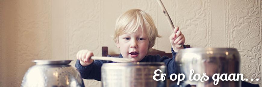 Drumstel Kind vanaf 1 of 2 jaar