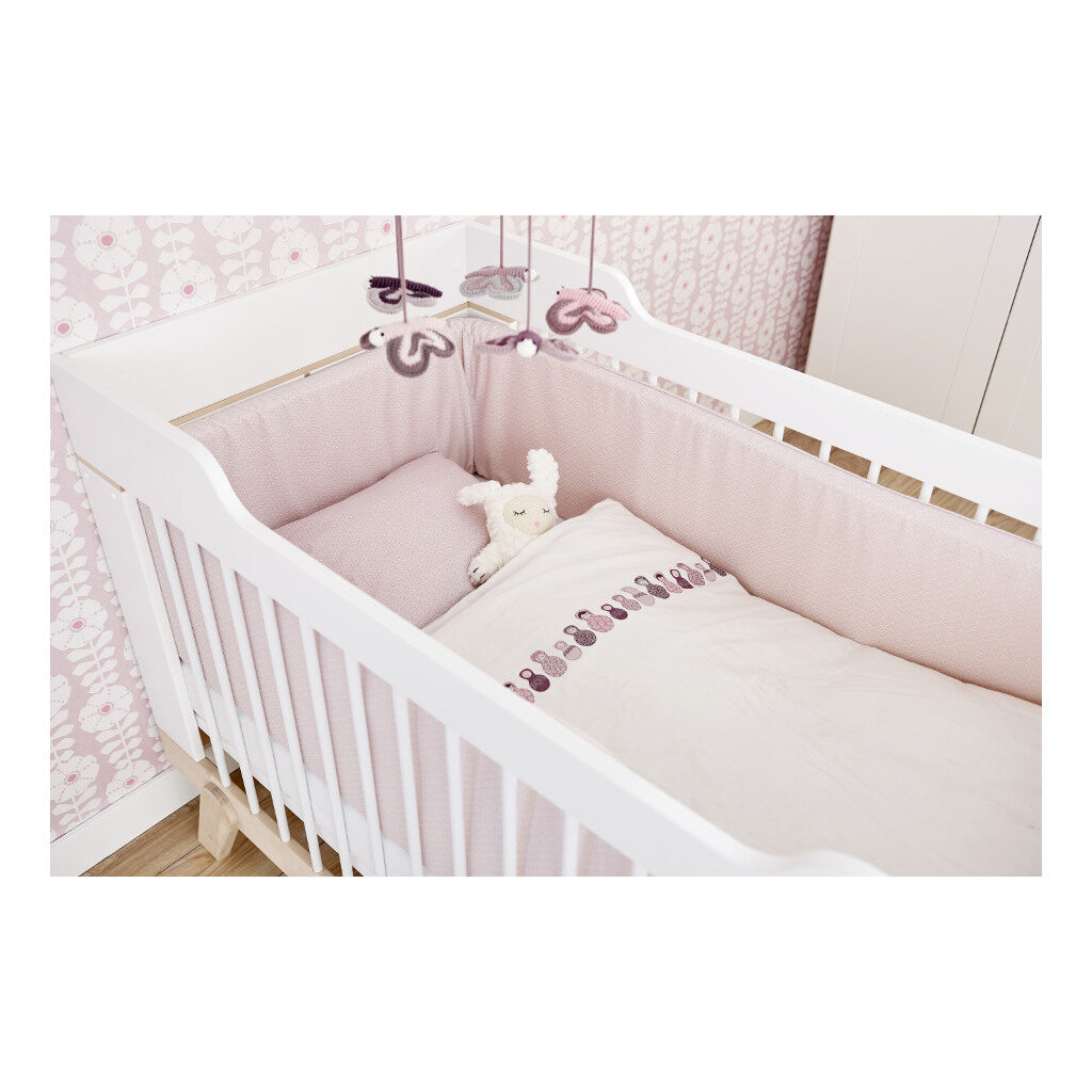 2 In 1 Baby En Junior Ledikant Lifetime Kidsrooms 70 x 140 CM Peuterformaat Bed Life-7032