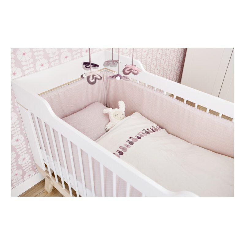 2 In 1 Baby En Junior Ledikant Lifetime Kidsrooms 70 x 140 CM Peuterformaat Bed Life-7032