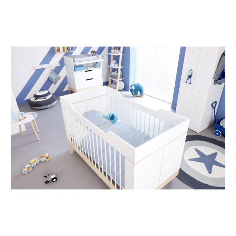 2 In 1 Baby En Junior Ledikant Lifetime Kidsrooms Babykamer Stoer Life-7032