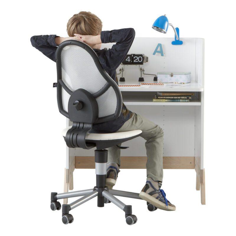 2 In 1 Babycommode En Bureau Lifetime Kidsrooms Desk Effect Life-7033