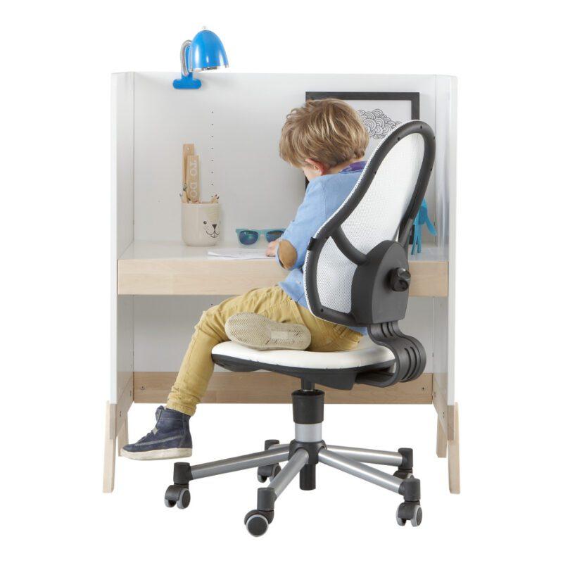 2 In 1 Babycommode En Bureau Lifetime Kidsrooms Hoogte Verstelbaar Bureau Life-7033