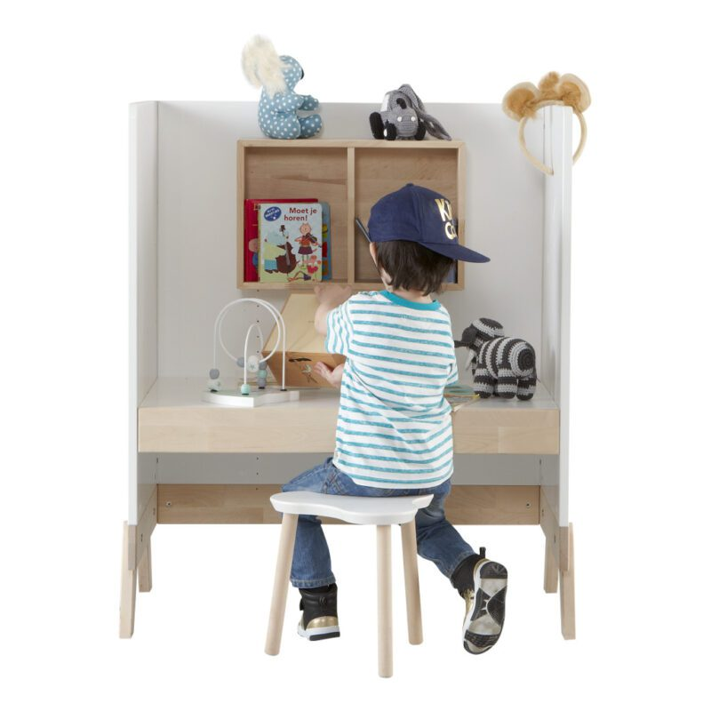 2 In 1 Babycommode En Bureau Lifetime Kidsrooms Kleuter Bureau Life-7033