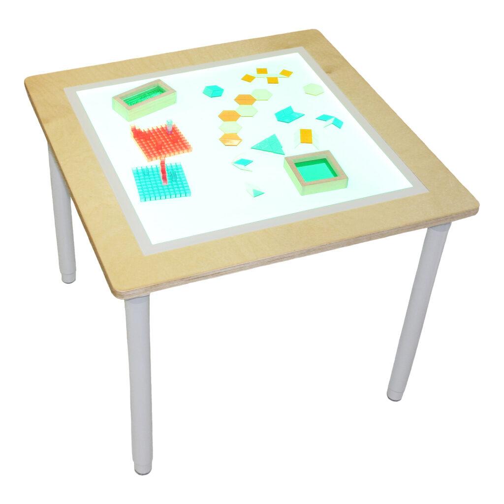 4X Tafelpotenset Voor Led Lichttafel Edup-110196