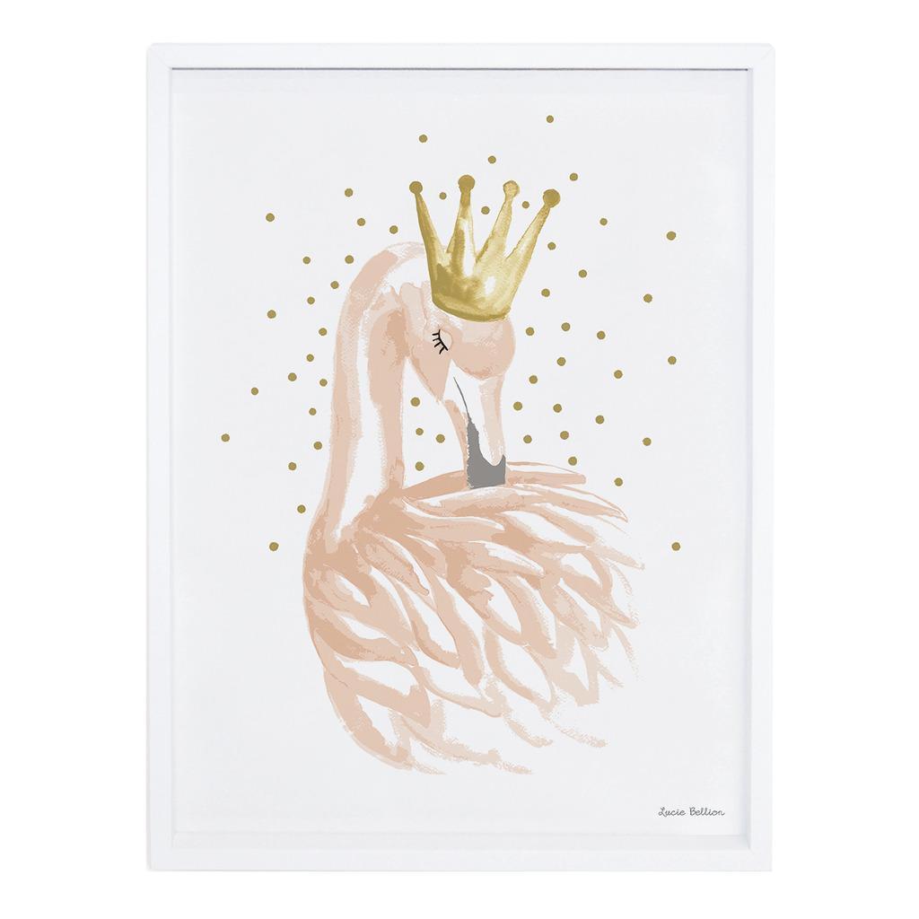 And Stars Poster Flamingo Lilipinso Met Lijst Lili-P0180