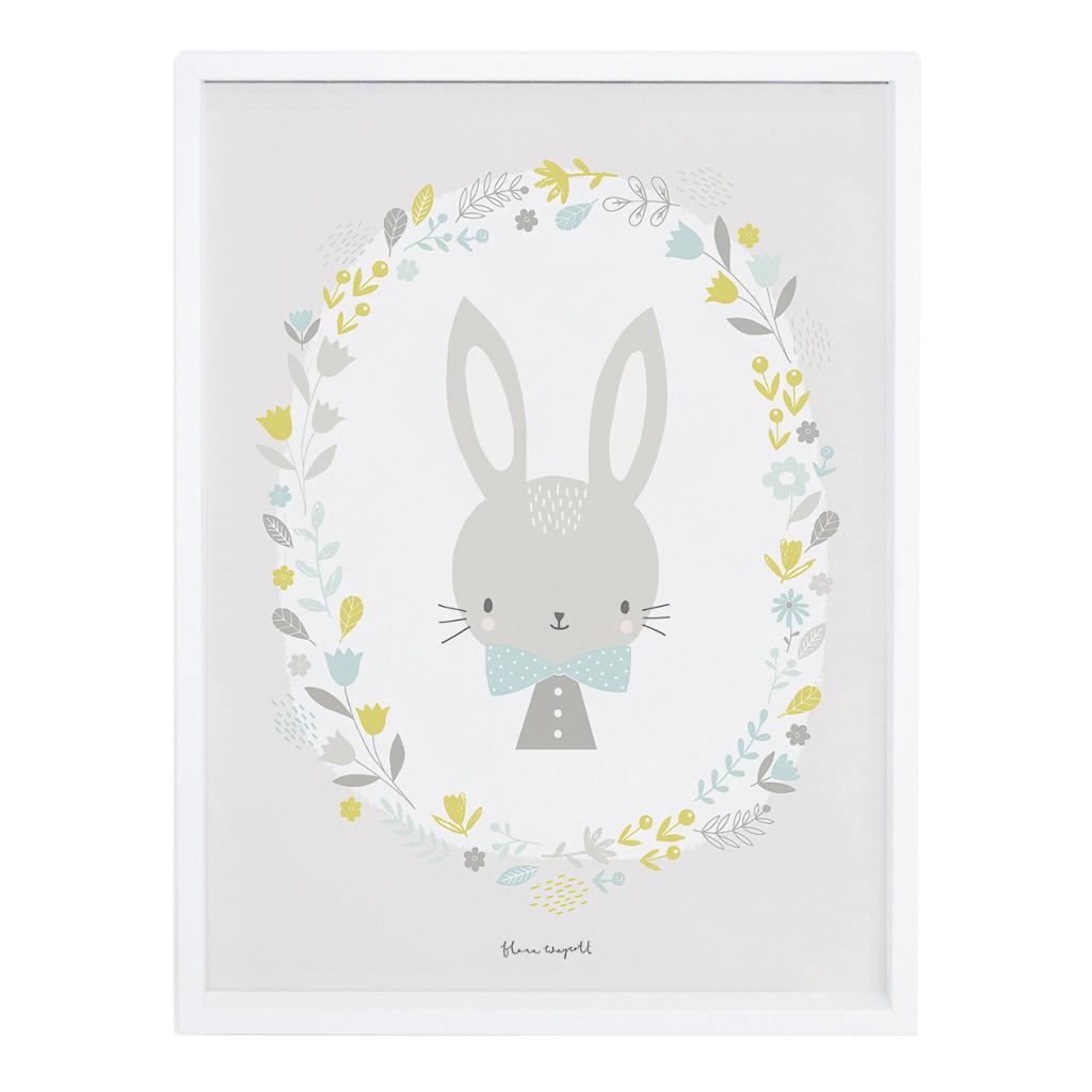 Boy Poster Sweet Bunnies Lilipinso Met Lijst Lili-P0174