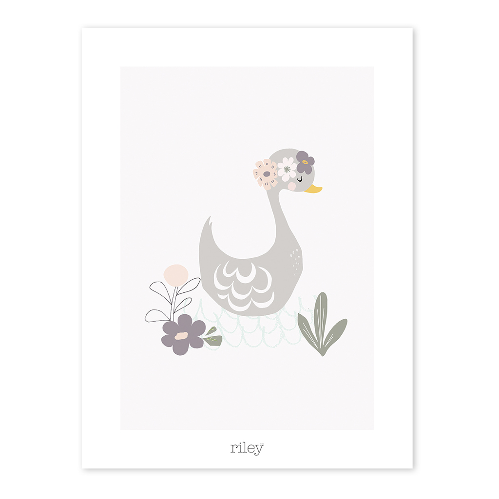 Duck Poster My Lovely Swan Lilipinso Lili-P0176