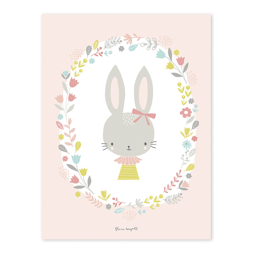 Girl Poster Sweet Bunnies Lilipinso Lili-P0175