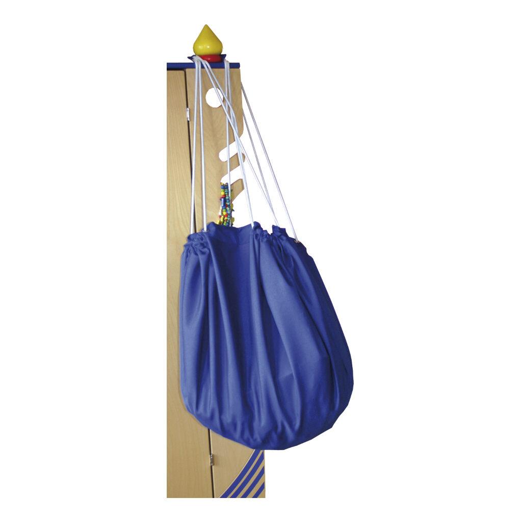 Grote Speel En Opberg Kleed Blauw 135 Cm Edup-100003