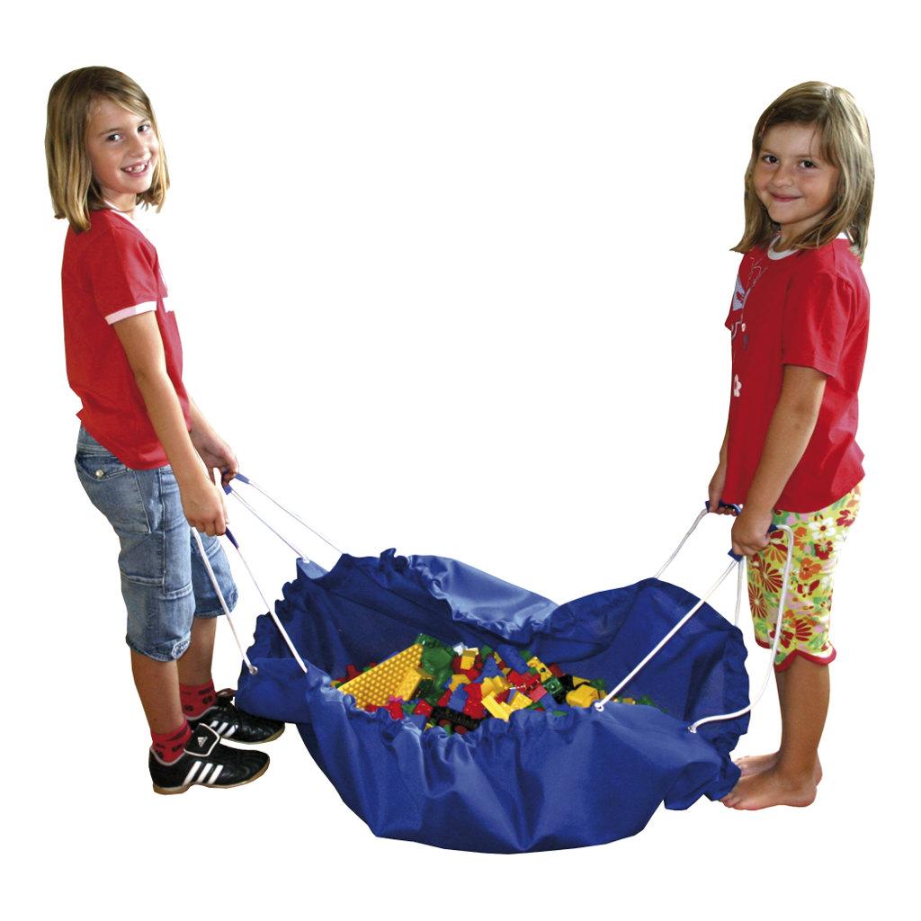 Grote Speel En Opberg Kleed Blauw 135 Cm Verzamel Opruimen Edup-100003
