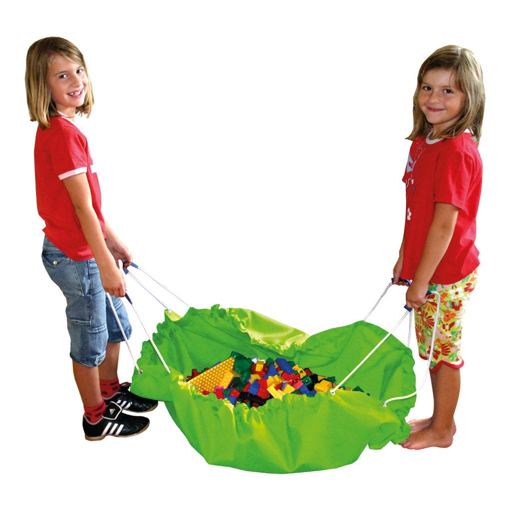 Grote Speel En Opberg Kleed Groen 135 Cm Edup-100012