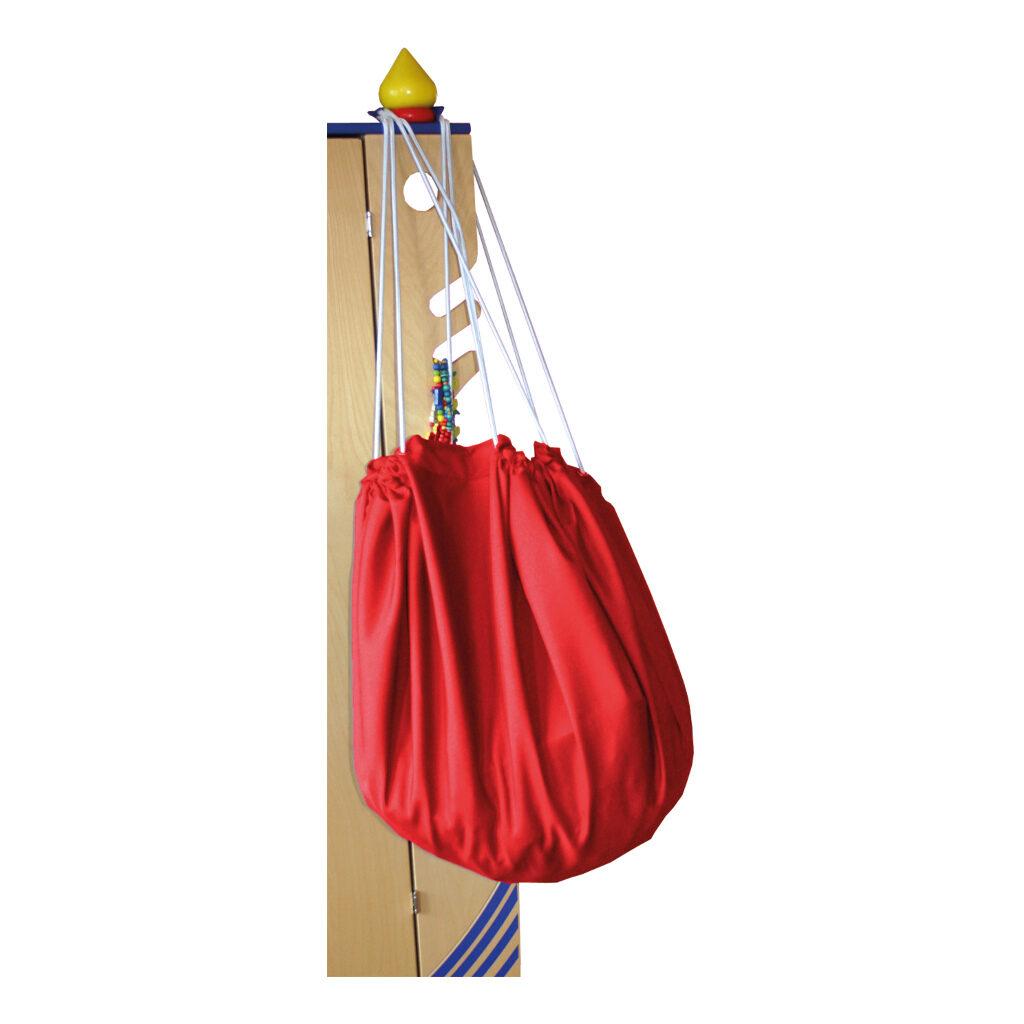Grote Speel En Opberg Kleed Rood 135 Cm Edup-100011