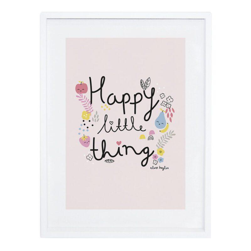 Happy Little Things Poster Tutti Frutti Lilipinso Met Lijst Lili-P0199 1024X1024