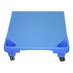 Hoeslaken Blauw Voor Kinder Ligbed 130 Cm Edup-110022