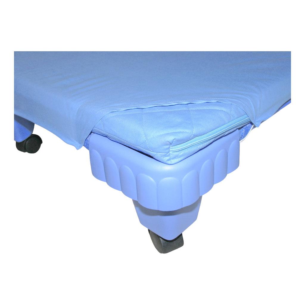 Hoeslaken Blauw Voor Kinder Ligbed 140 Cm Edup-110023