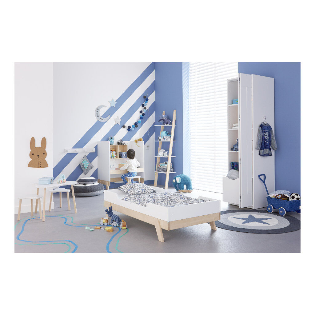 Juniorbed 70X140 Cm Lifetime Kidsroom Peuterbed meegroei Kamer Life-7032B