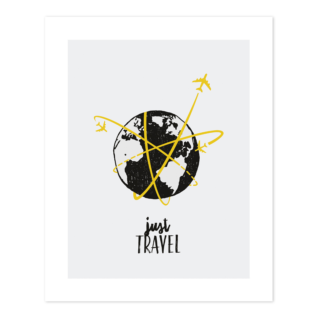 Just Travel Poster Mini Travelers Lilipinso Lili-P0228 1024X1024