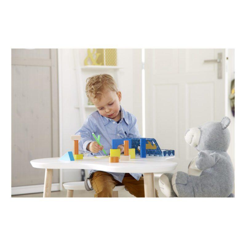 Kindertafel Clover Lifetime Kidsrooms Wolk Tafellife-381-10