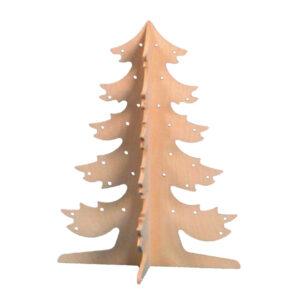 Kleine Houten Dennenboom 50 Cm Hoog Edup-110167