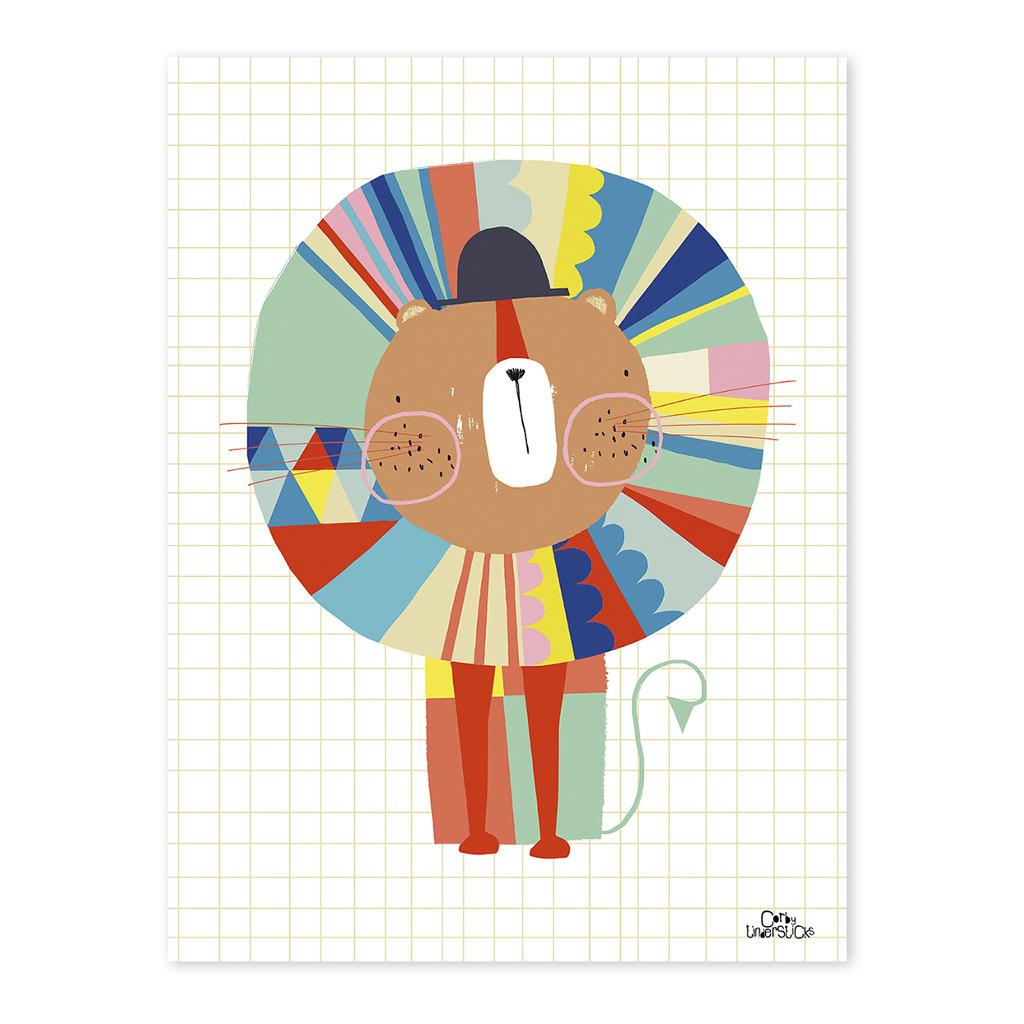 Lion Poster Imaginarium Lilipinso Lili-P0187 1024X1024