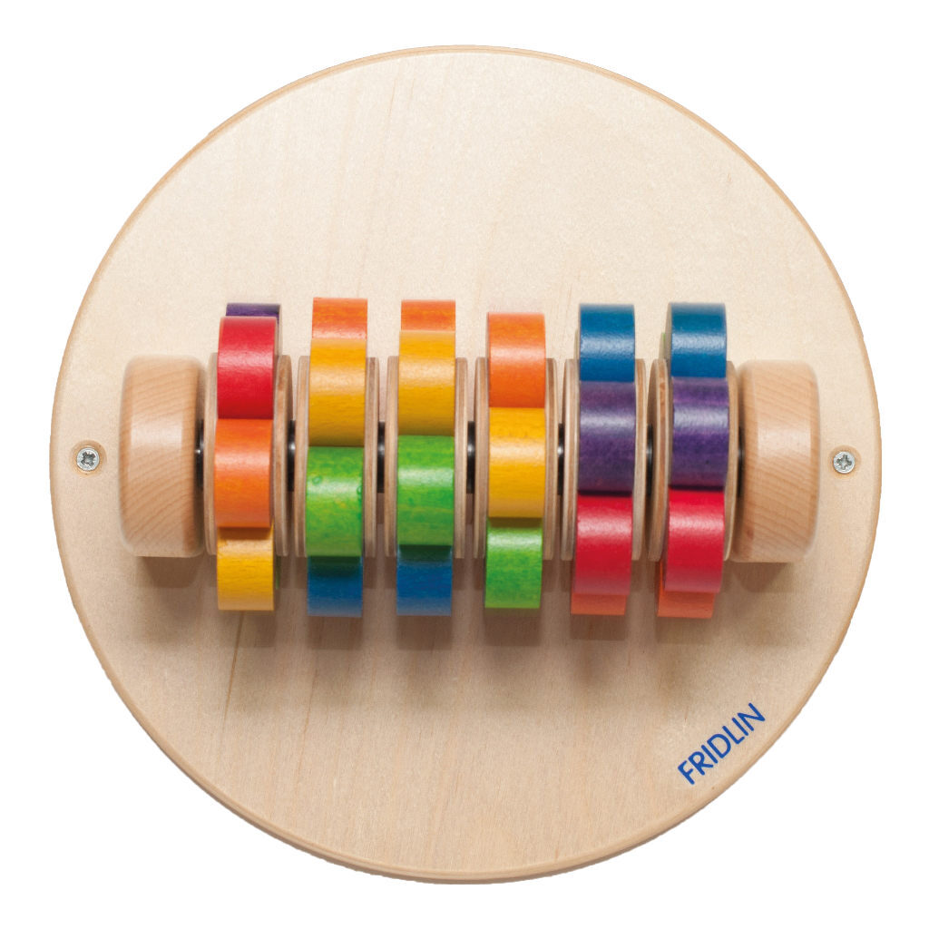Roterende Bloem Wandspel Edup-110232