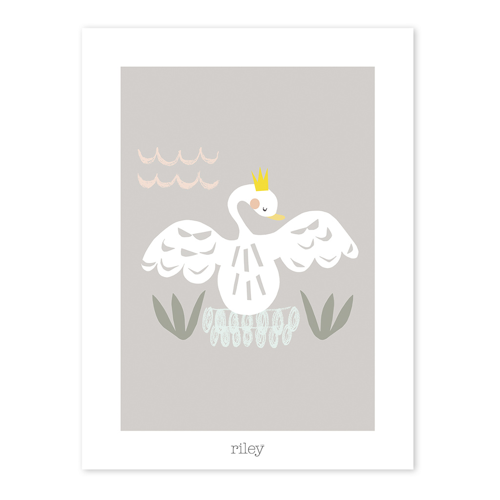 Swan Poster My Lovely Swan Lilipinso Lili-P0177