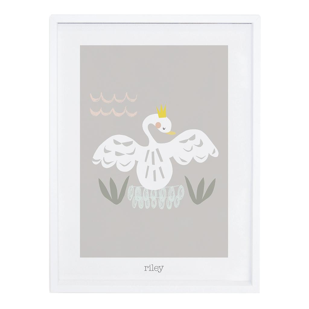 Swan Poster My Lovely Swan Lilipinso Met Lijst Lili-P0177