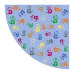 Tapijt Handen Bovenhoek 150 Cm Edup-110262