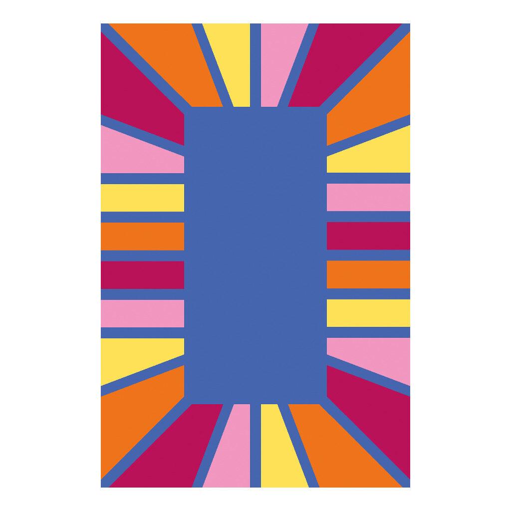 Tapijt Kleursegment Rechthoekig 300 X 200 Cm Edup-110266