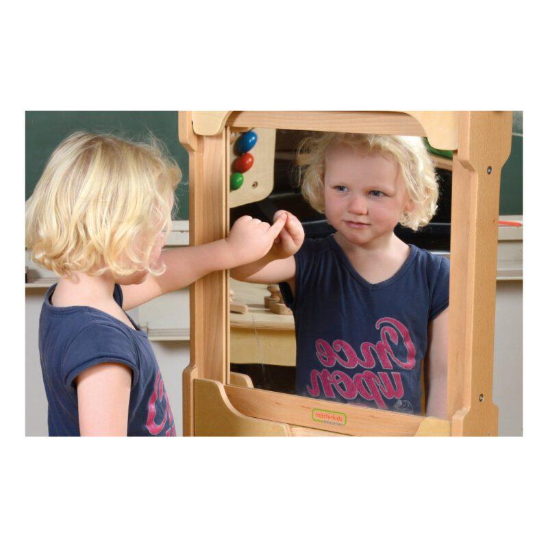 Wandelement Spiegel 46 X 46 X 2,1 Cm Edup-120410