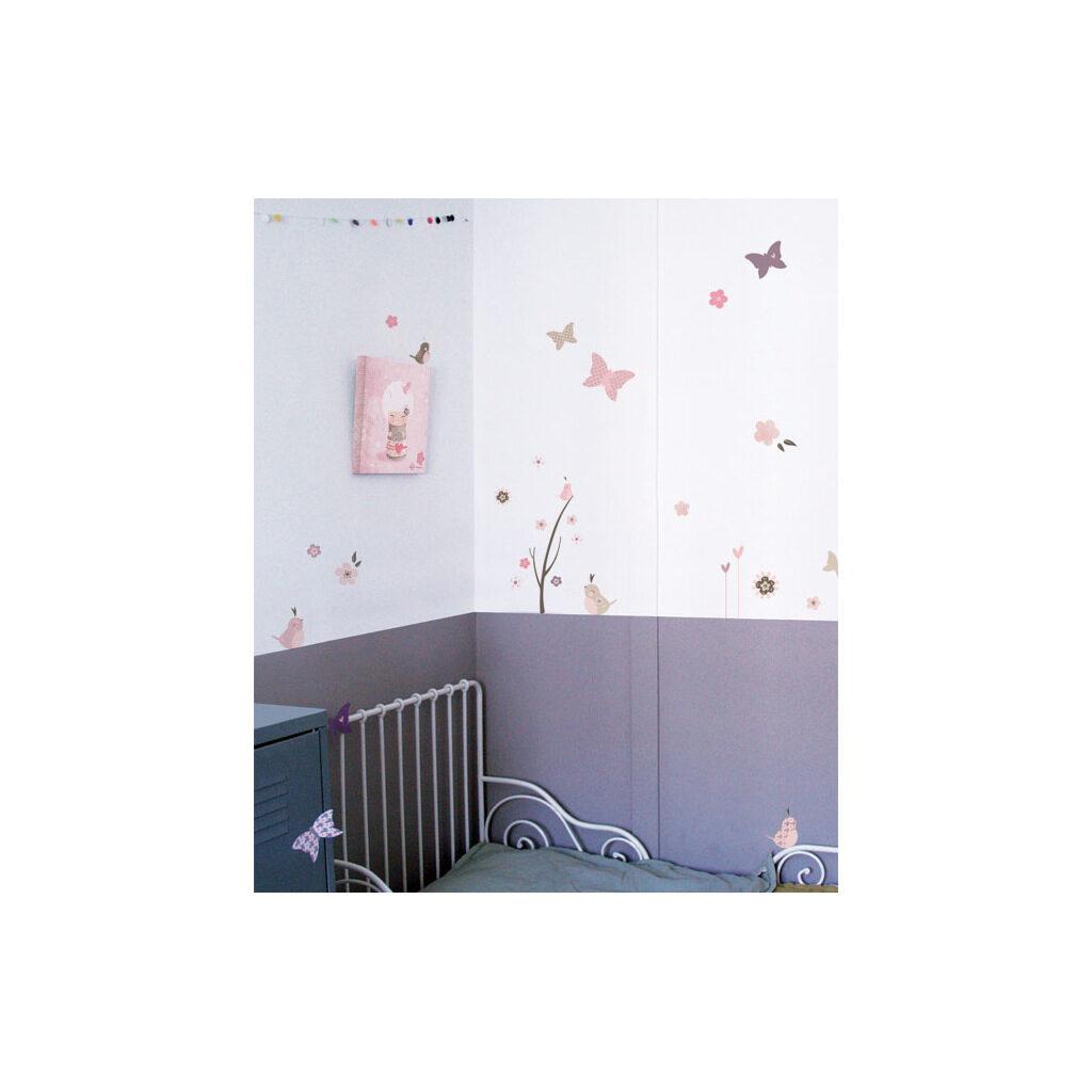 Baby Birds Muursticker A3 Lilipinso Sfeer Babykamer Lili-S0135