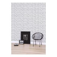 Black Crosses Behang Rebel Rules Lilipinso Kruisjes All Over Lili-H0364