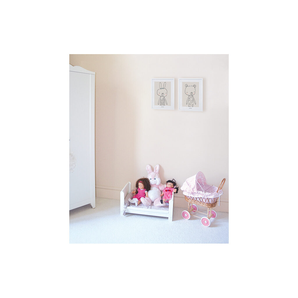 Blanche Poster Little Friends Lilipinso Sfeer Kinderkamer Lili-P0128