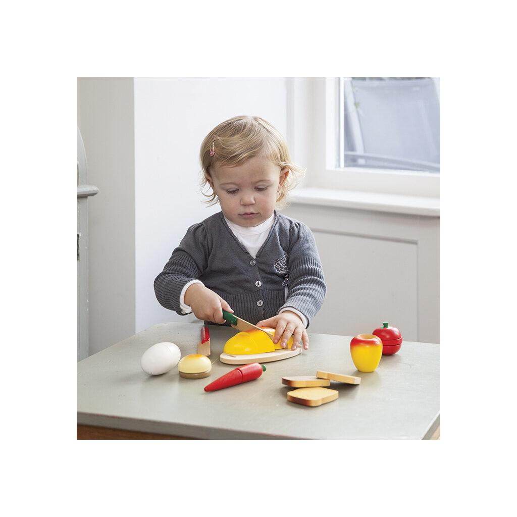 Bon Appetit Ontbijt Set 22 Delig New Classic ToysOefenen Samenstellen newc-10580